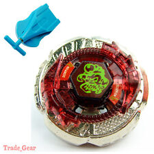 Beyblade BB-65 Rock Escolpio T125JB Metal Masters Fusion+Single spin Launcher