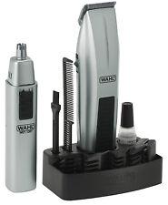 WAHL 5537-420 Portable Mustache & Beard Battery 12 Pcs Travel Trimmer