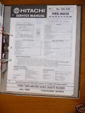 MANUAL DE SERVICIO Hitachi hrd-md50 Sistema de alta fidelidad, original