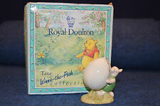Lovely Royal Doulton Disney Piglet And The Balloon WP 5 Figurine Boxed RD4873