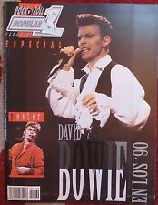 POPULAR 1  ESPECIAL N.169- DAVID BOWIE !!! (SPANISH MAGAZINE) AÑO 1996