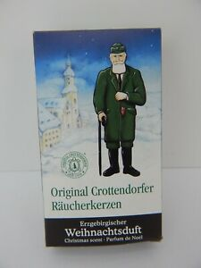 German Crottendorfer Christmas Scent 24 Incense Cones for Smokers
