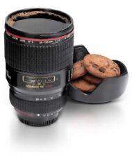 Thumbsup Camera Lens Drinking Cup Nip Photographer Cup Mug with Bowl