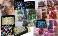 Eg /_ 100pz Lotto 4//6mm Trasparente Colore Fai da Te Perline di Cristallo per