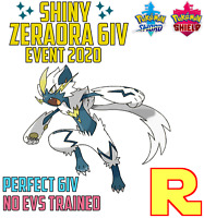 6IV SHINY ZERAORA ⚔️ (+ITEM!) 🛡 for Pokemon SWORD & SHIELD ⚔️ Legit & Perfect