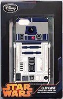 RARE STAR WARS R2D2 iPhone 5/5S CLIP CASE w KICKSTAND Disney Store EXCLUSIVE NIP