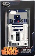 RARE STAR WARS R2D2 iPhone 5/5S CLIP CASE w KICKSTAND Disney Store EXCLUSIVE NIP