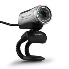 AUSDOM 1080P HD USB Webcam with Built-in Microphone 12.0MP