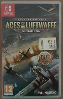 Nintendo Switch-Aces of the Luftwaffe-Squadron extended edition versione Italia