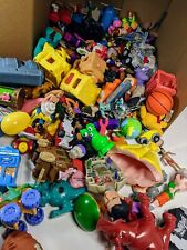 12 lbs Of Fast Food Toys, Assorted From The 90's & Other Toys 1970 tootsie truck