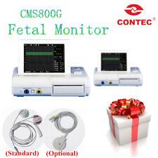 Hot sale CONTEC CMS800G Fetal Monitor FHR TOCO Fetal Movement new print paper CE