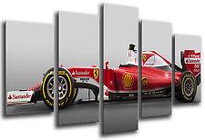 Carreau Moderne Voiture Formule 1, Ferrari F1, Sebastian Vettel, Réf. 26553