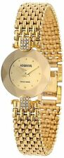 Jowissa Women's J5.010.S Facet Strass Star-Cut Gold PVD SS Rhinestone Watch