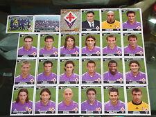 FIGURINE CALCIATORI PANINI 2004-05 SQUADRA FIORENTINA CALCIO FOOTBALL ALBUM