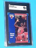 1991-1992 Fleer #29 Michael Jordan SGC 9 MINT Brand New Case