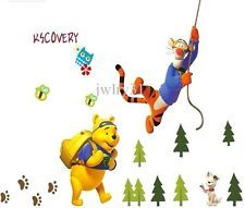 winnie the pooh and friends large wall sticker decal children/kids room mural