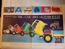 1960 GMC General Motors Breakthrough Operation High Gear Truck Ad