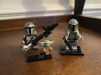 Star Wars Mandalorian And Boba Fett MiniFigures Fast UK Delivery