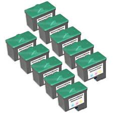 10PK COLOR Ink Cartridge for Lexmark 26 10N0026 Z23 X1130 X1140 X1150 Z517 X2250