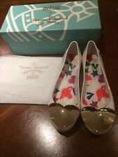 Vivienne Westwood Anglomania MELISSA Shoes Bianco TAGLIA EU 40 UK 6.5 - 7