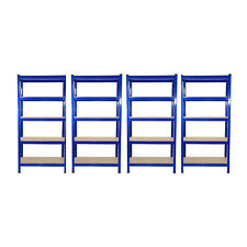 4 x Garage Shelves Shelving Unit Racking Boltless Heavy Duty Storage Shelf 90cm