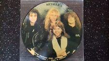 "Metallica ""Interview"" picture disc 33t"