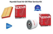 Filter Service Kit Fit Hyundai Excel X3 1.5L G4EKR Air Oil Filters Maxflow® Kit