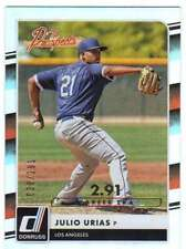 2016 Donruss The Prospects Career Stat Line RC /291 #2 Julio Urias Dodgers