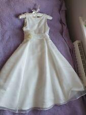 Vestido de boda John Lewis Chicas bridsmade/, 9 años, sólo una vez usado, Buen Estado