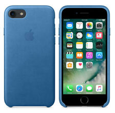 Original Apple Case iPhone 7 / 8 Leder Handy Hülle Cover OVP Sea Blue Blau OVP