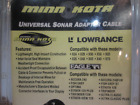 1852055 MKR-US-6 MinnKota Universal Sonar Adapter Cable for Lowrance Eagle