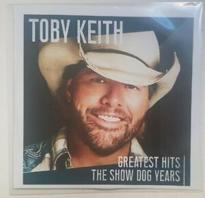 TOBY KEITH - GREATEST HITS (SHOW DOG YEARS) ♦  ALBUM CD PROMO  ♦