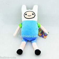 """New Finn plush Doll Adventure Time with Finn and Jake stuffed Soft toy 28cm 11"""""""