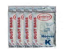 12 Hoover Type K Spirit Vacuum Bags, Canisters, Encore, Supremacy, Older Runa...