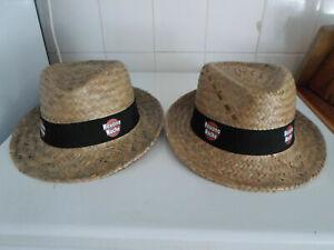 2 Chapeaux Panama « Havana Club »HAVANA NOCHE - New PANAMA 2016 neuf