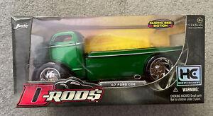 Jada 2005 D-Rod$ 1:24 Green '47 Ford Coe -  NIB Good Condition