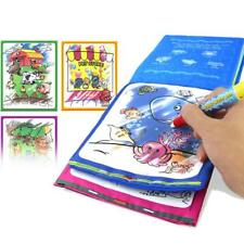Kids Animals Water Drawing Book + Pen Intimate Coloring Drawing Toys hv2n