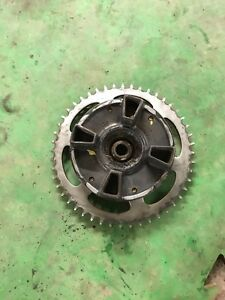 Kawasaki ZZR600 1990-2004 Sprocket carrier And  Sprocket In Very Good Condition