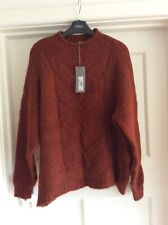 Principles Tan Cable Softknit Jumper Sz 14 Bnwt £39