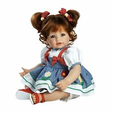 Lifelike Handmade Realistic Vinyl 20 inch Toddler Girl Doll Gift Great to Reborn