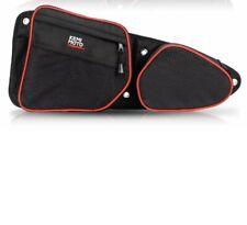 UTV LEFT Rear Side Door Bag w/ Knee Pad For Polaris RZR XP4 1000 4 900 Turbo