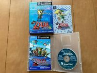 Legend of Zelda: The Wind Waker Japan Gamecube Nintendo GC with Box,manual
