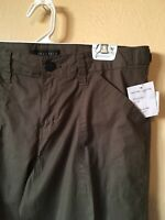 Sanctuary Womens Pants Olive Size 27 Cropped Pants