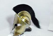 300 SPARTAN ROMAN MOVIE REPLICA BLACK PLUM HELMET antique FINISH LEONIDAS HELMET