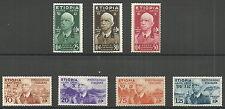 Italienische Äthiopien - Freimarken Kaiser Emanuel Satz postfrisch 1936 Mi.1-7