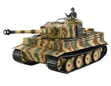 1:16 Taigen Tiger I RC Tank Mid Version 2.4GHz Metal Edition Barrel Recoil PRO