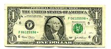 STARNOTE 2003 $1 Federal Reserve STAR NOTE  PAPER MONEY ONE DOLLAR BILL #4399