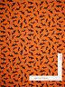 Halloween Bats Orange Polka Dot Cotton Fabric Wilmington Here For The Boos Yard