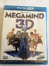 Megamind (3D Blu-ray, 2011) (New & Sealed)