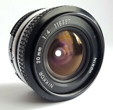 Nikon Nikkor 20 mm AI f4.0 - Classique pour paysage photographie